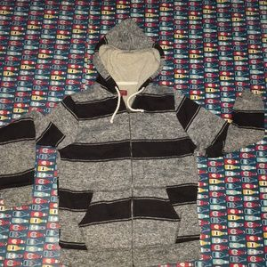 Outdoor hoodie Sherpa lined extra thick measured